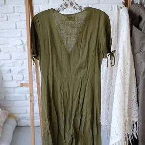 Urban Outfitters Other - UO army green jumpsuit size M good condition